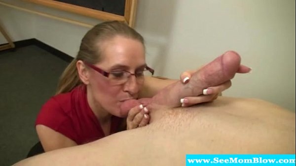 Milada the hot mama nurse examines her pink cooter with a 8