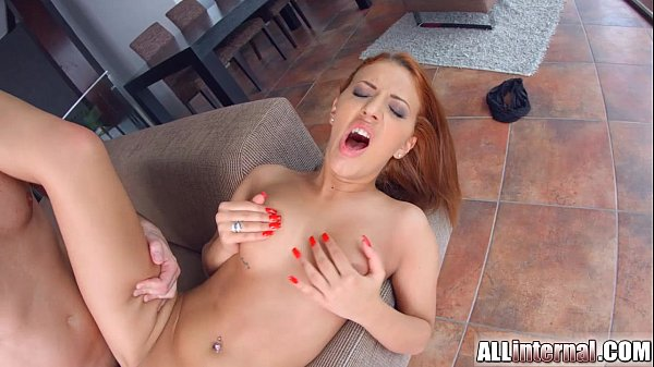 allinternal redhead shows us her cum filled pussy xnxx com