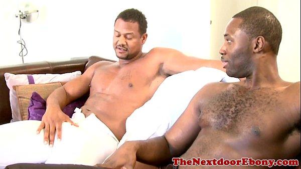 Ebony Gaysex Jock Drilling Tight Ass