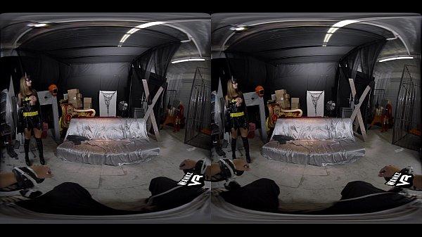 image Wankz vr batgirl and superwoman have erotic lesbian encounter in vr