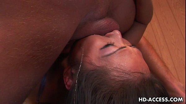 Asian slag nyomi zen endures being face 6