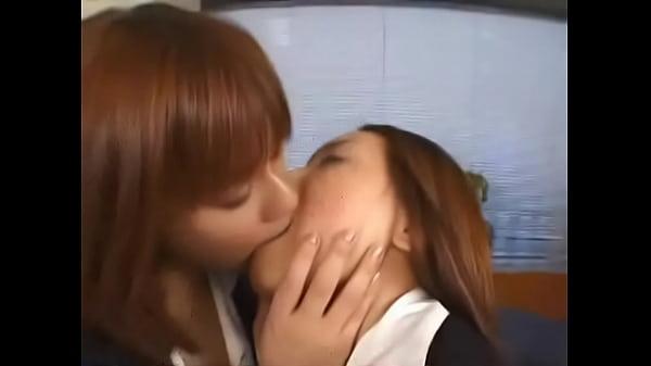 Asian girls kisses