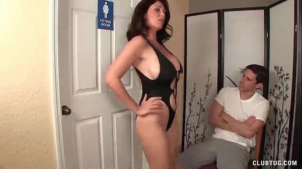 image Angry stepmom jerking the young man