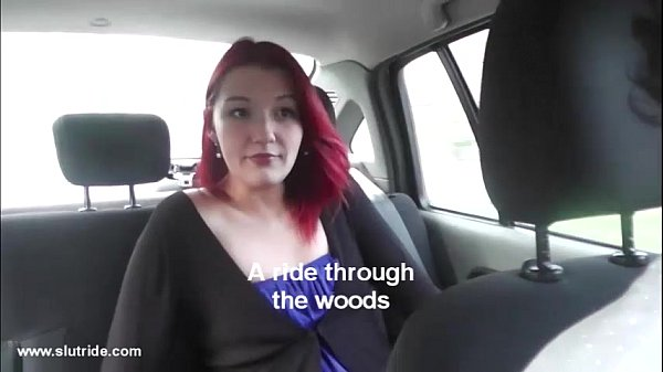 Czech 19yo redhead does wild blowjob for taxidriver 9