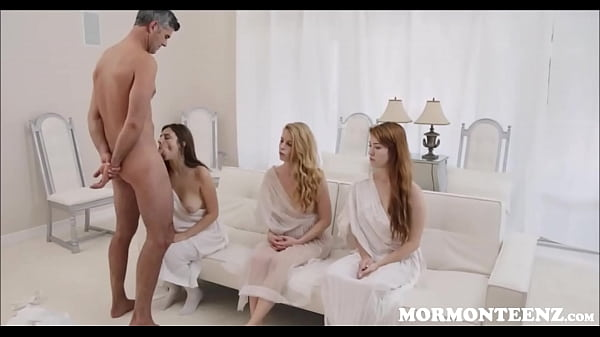 Naked girl doing the scorpion