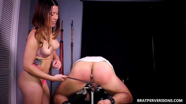 spanking domestic discipline Women 2 femdom man