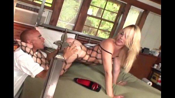 Annette facesitting in lingerie