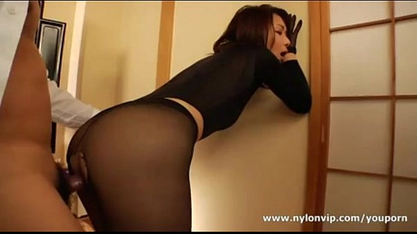 Nylon stocking fuck