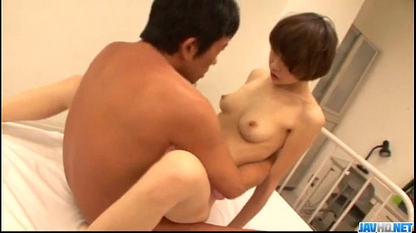 Akina hara gets shared by two males in threes 1