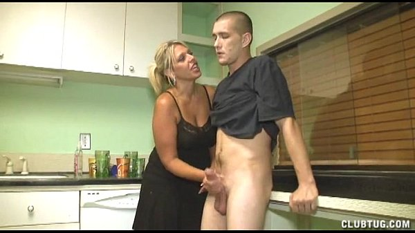 Share your handjob in kitchen xxvideos