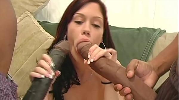 Insane interracial and huge tits nurses