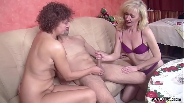 milf and virgin boy