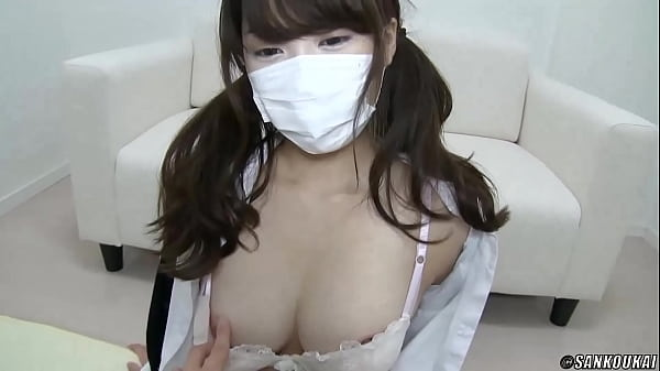 ツインテールな巨乳美乳制服Eカップ素人JKのパイズリ無料H動画