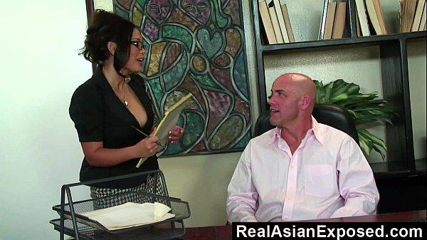 image Realasianexposed jessica bangkok is the best secretary ever