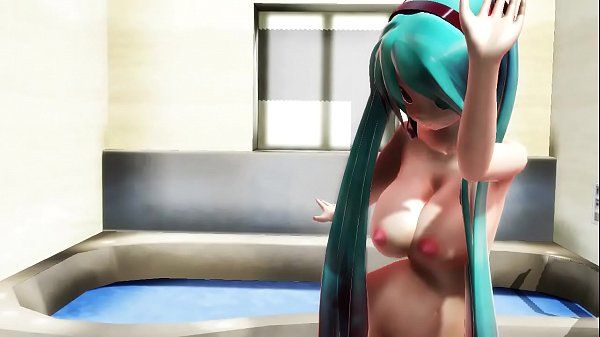 3d mmd luscious hatsune miku in cyber thunder cider 2
