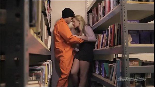 prison library porn