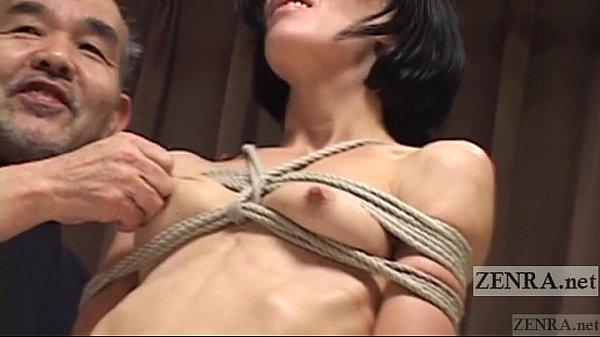 Subtitles bizarre japanese nose hook bdsm spanking 9