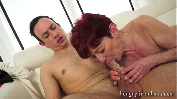 young boy old woman blowjob