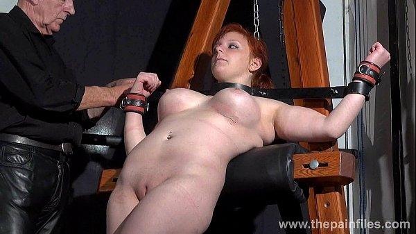 Swedish slavegirl vicky valkyries suspension bondage - 2 part 1