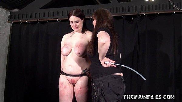 image Lesbian slavegirl alyss tortured by her mistress in hardcore bdsm session
