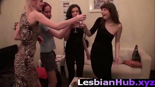 Russian foam party turned orgy