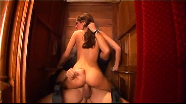 Brunette gets fucked in the ass