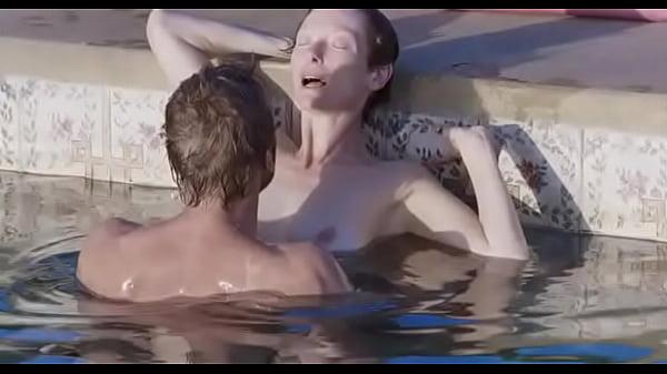 tilda swinton sex scene the beach