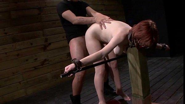 Neck collared slave velma dearmond fucked hard by a big cock - 3 5