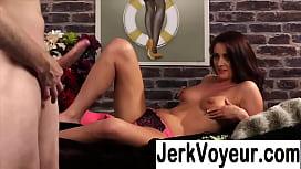 clothed women watching naked men masturbate xnxx com watch jerk off