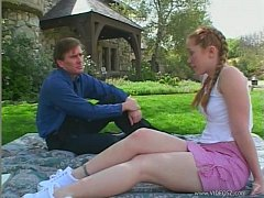 Teenie Kitty Marie fuck outdoor