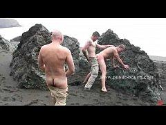 Public beach chosen by gay masters