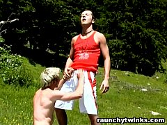 Hot Outdoor Gay Fuck With Mark And Constantine