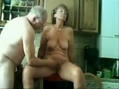 Stolen video of my gorgeous mom having fun with...