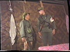 Thai Army and Village Girls