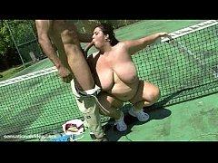 BBW Wife Rikki Fucks Stud Tennis Instructor