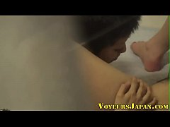 Japanese lesbian fingered