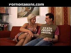 Italian slut fucks mom with son - mamma italian...