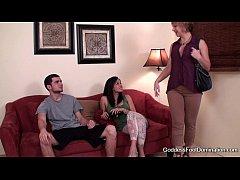 image Cock blocker steals his girlfriend