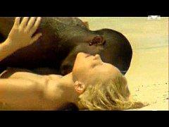 Monika Sweet interracial sex on the beach (SOFT...