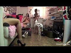 Christy Mack On the porn set