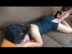 Slutty Thai whore gets fucked as she wakes up