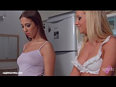 My kitchen love by Sapphic Erotica - lesbian lo...