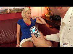 FakeShooting Super hot blonde teen finally conv...
