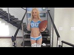 Tiny4K - Tiny bikini Sabrina Rey licks balls an...
