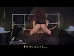 Caged beauty released for full of eroticism bon...