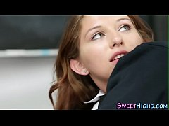 drilled teen facialized