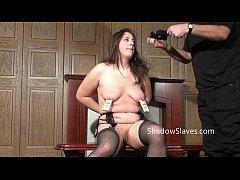 Amateur slave Jannas kinky fetish and bizarre m...