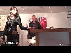 1st Casting anal mature francaise en lingerie a...