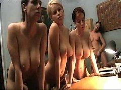 """Ashley Robbins lesbian show in """"La Vedova Della..."""