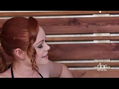 Couple seduces Hungarian babe into a Jacuzzi Th...